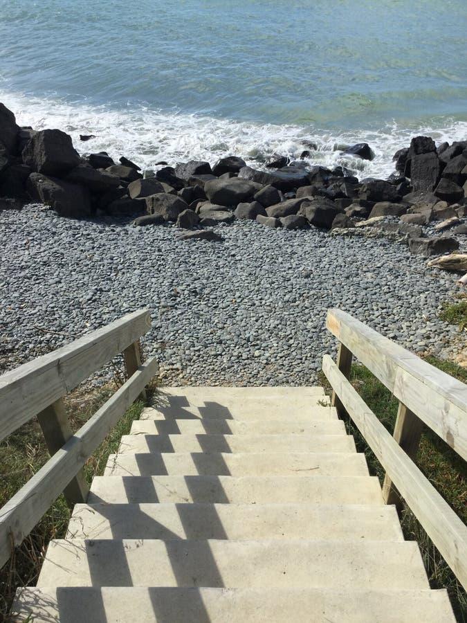 Sea Steps royalty free stock photo