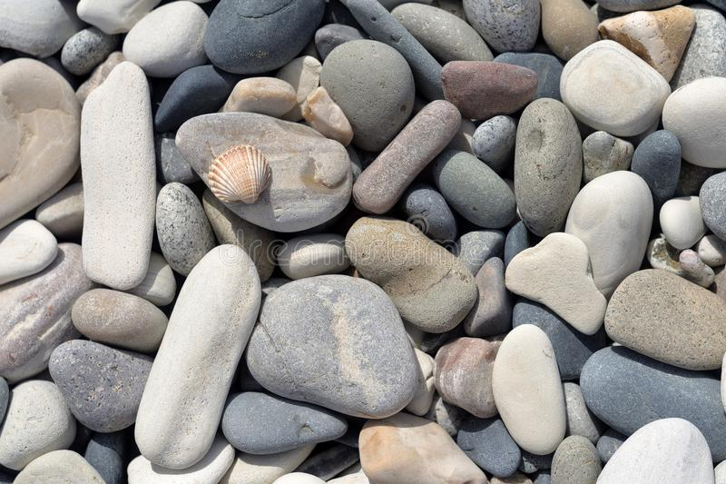 Sea stones, abstract background, pebble. stock images