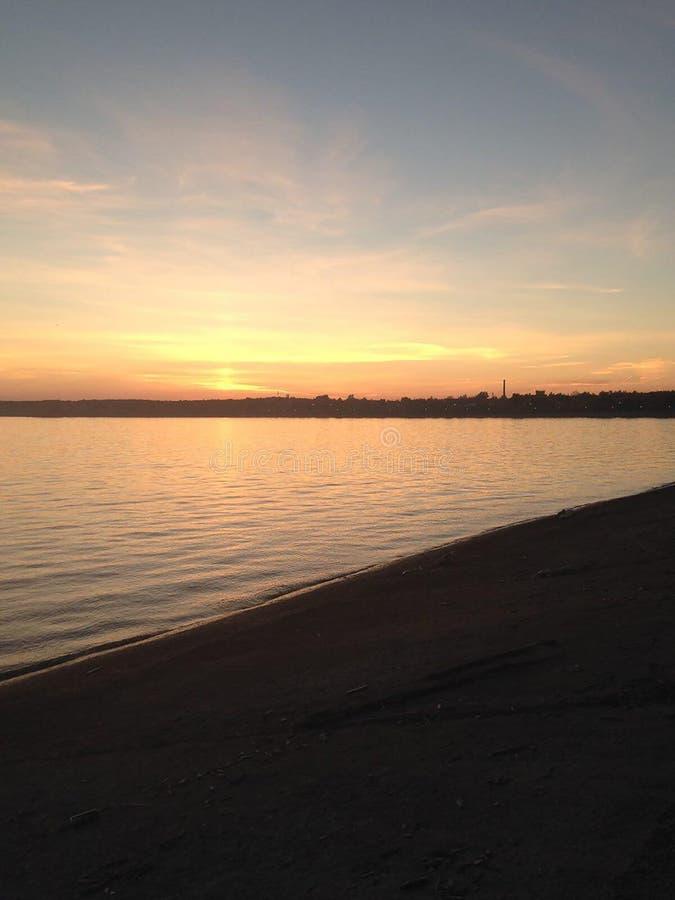 Sea sun and horizont mobile photography. Sea sun and horizont mobile landscape photography royalty free stock image