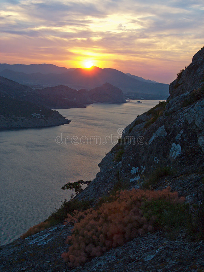 Free Sea Sunrise (3) Stock Photography - 1530542