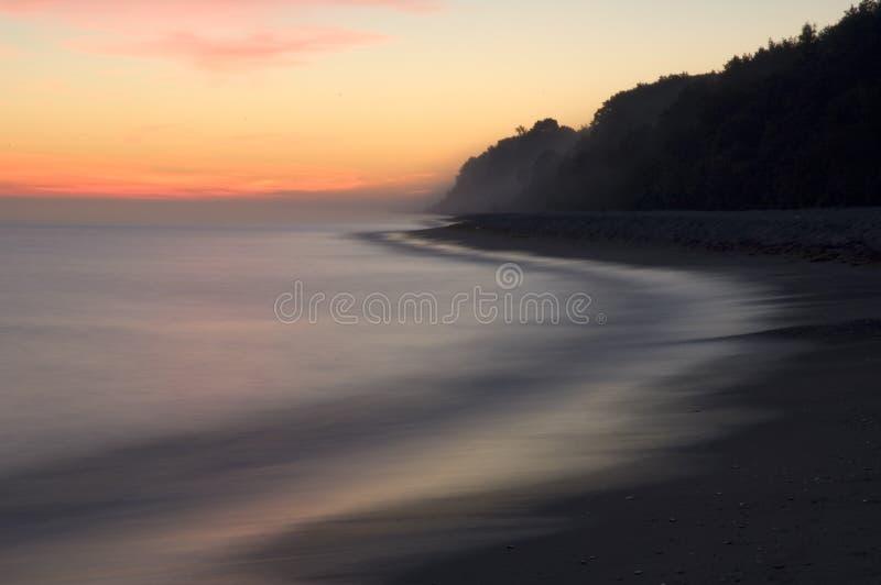 Sea Before Sunrise Stock Images