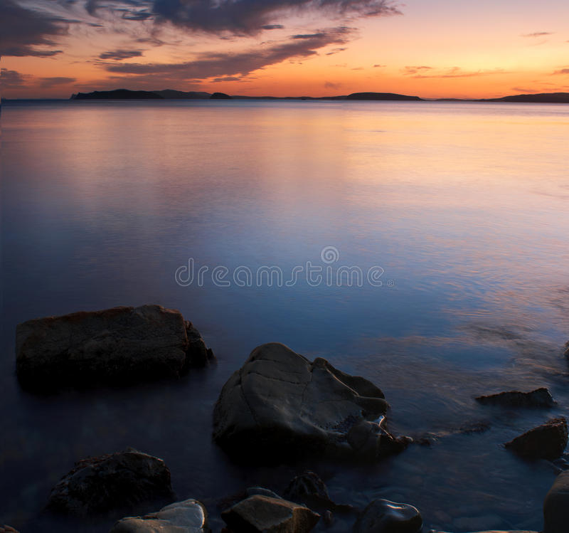 Download Sea sunset stock photo. Image of nature, ocean, background - 21030922