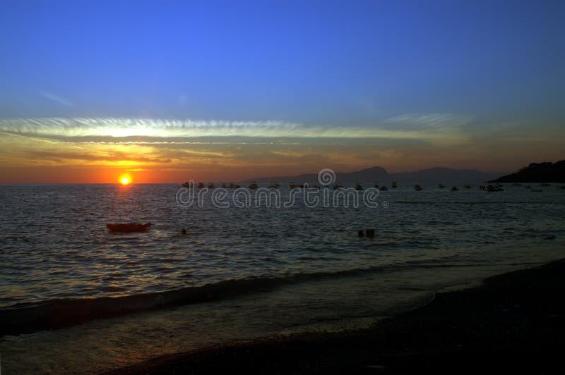 Download Sea Sunset stock photo. Image of europe, beach, travel - 6186574