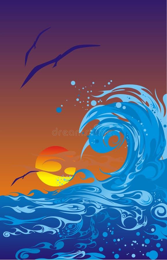 Download Sea Sunset Royalty Free Stock Photos - Image: 8274618