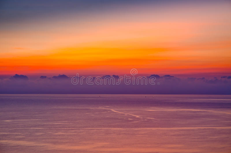 Download Sea sunset sunrise stock image. Image of evening, relax - 33553543