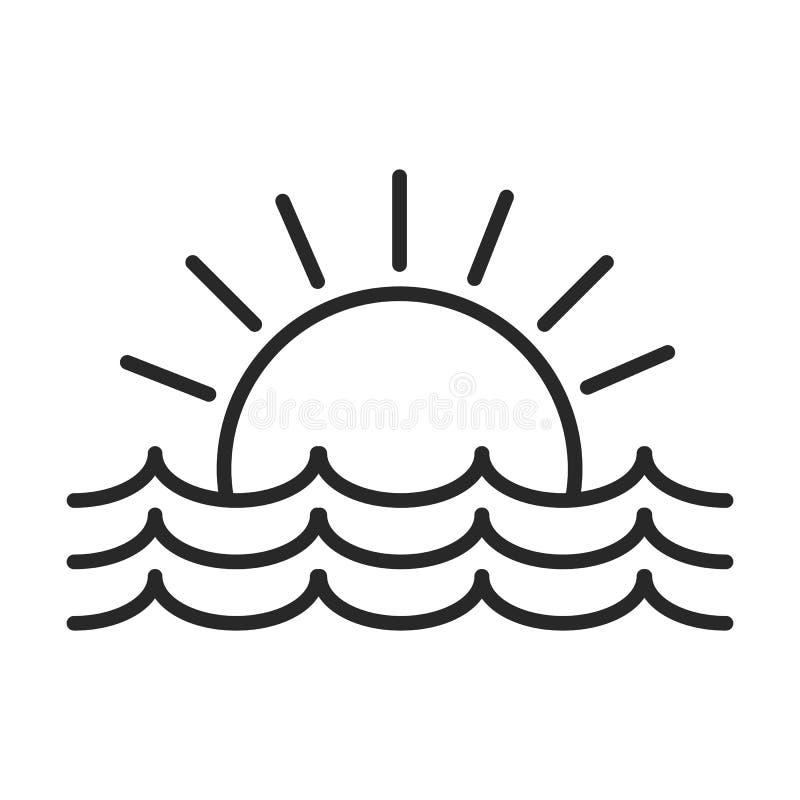 Free Sea Sunset Vector Icon Vol.2 Stock Photo - 87545740