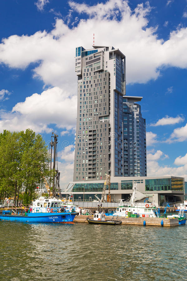 Download Sea Towers Skyscraper In Gdynia, Poland Editorial Photography - Image: 31188037