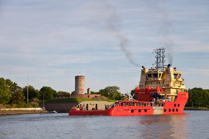 Download Sea trials tug editorial stock photo. Image of dock, poland - 14609318