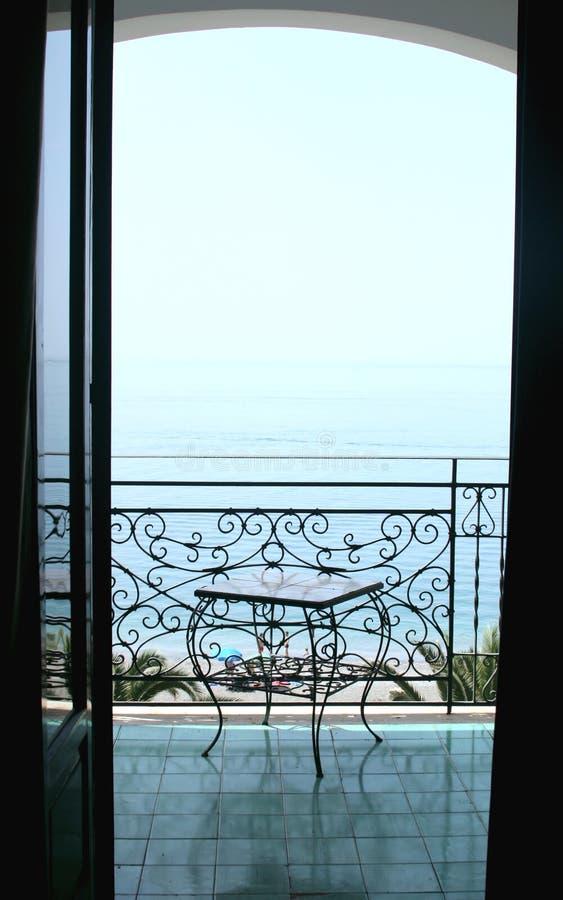 Sea view stock photo
