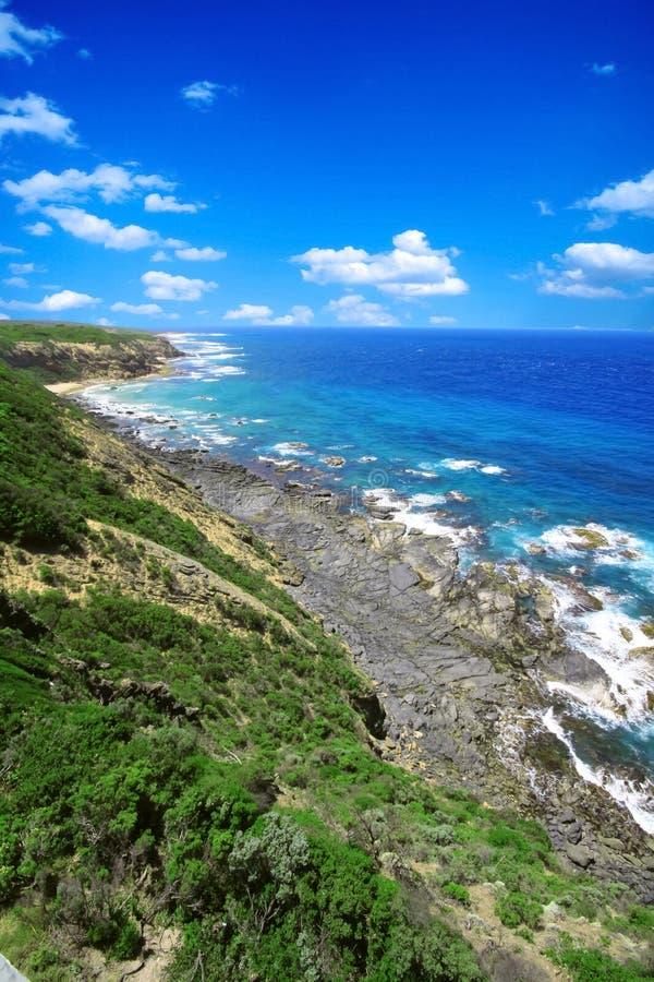 Sea View in Austrailia stock photography