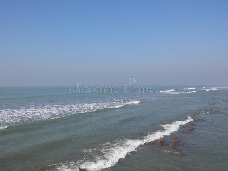 Sea view royalty free stock photos