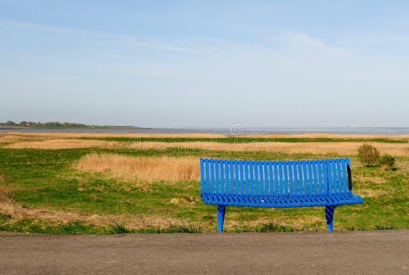 Sea view bench
