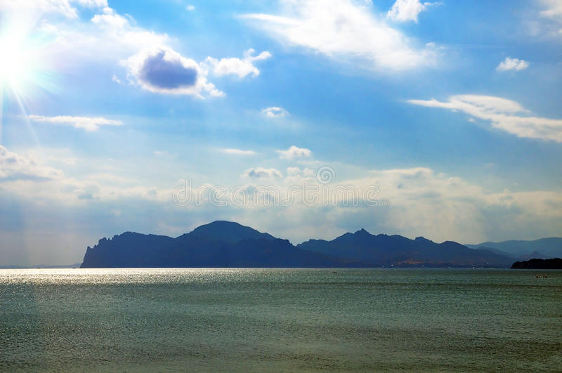 Sea-view Crimea Royalty Free Stock Images