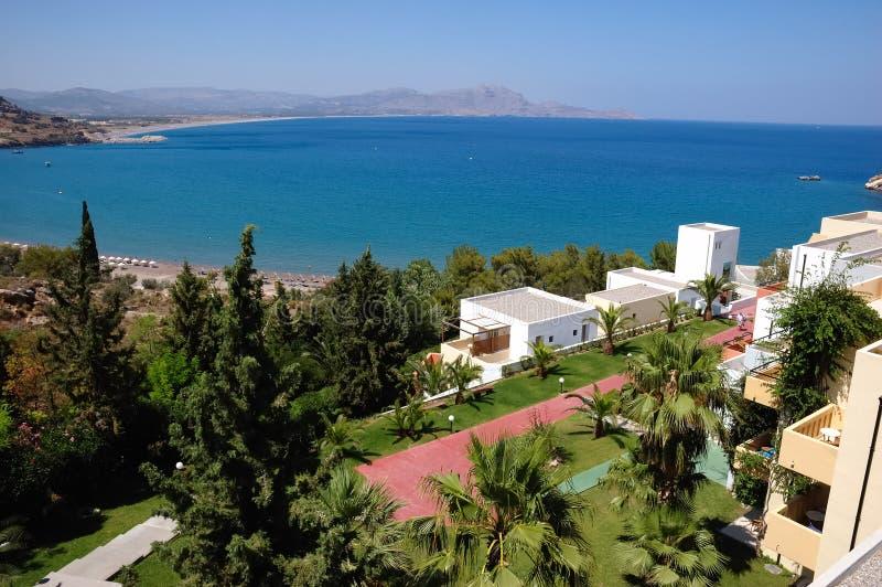 Sea View Hotel Stock Image