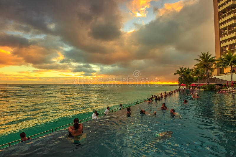 Infinity Edge Pool Ocean View And Beautiful Landscape