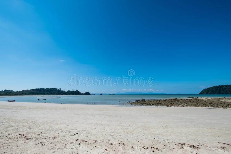 Sea view stock photography