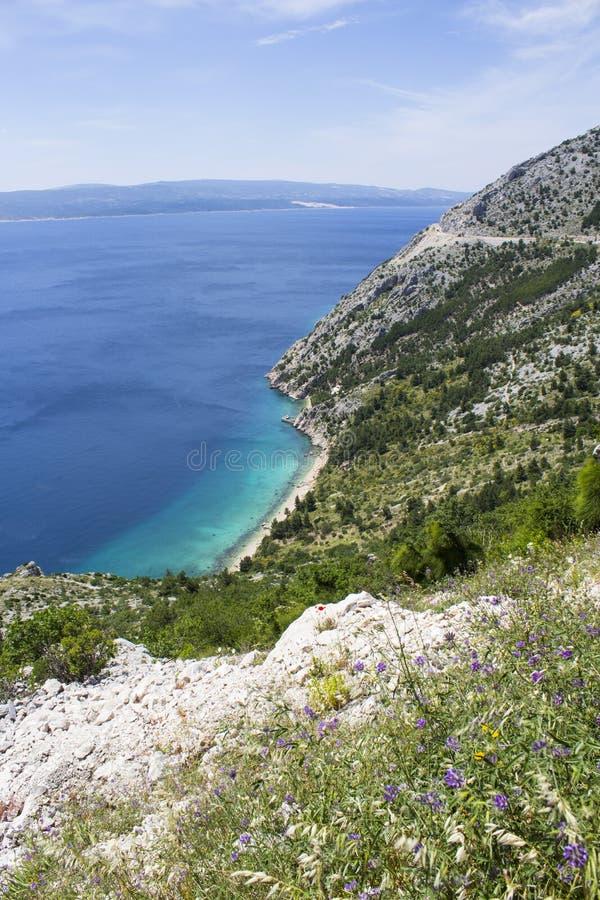 Sea view, Split stock images