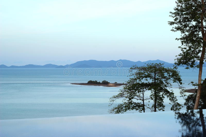 Download Sea View From Swimming Pool Stock Image - Image of thailand, great: 26378497