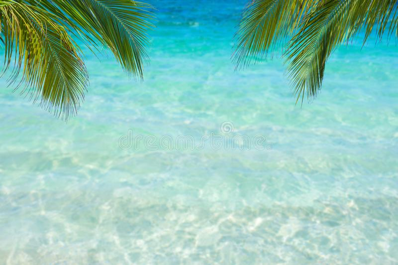 Sea view tropical sea with summer. royalty free stock photo