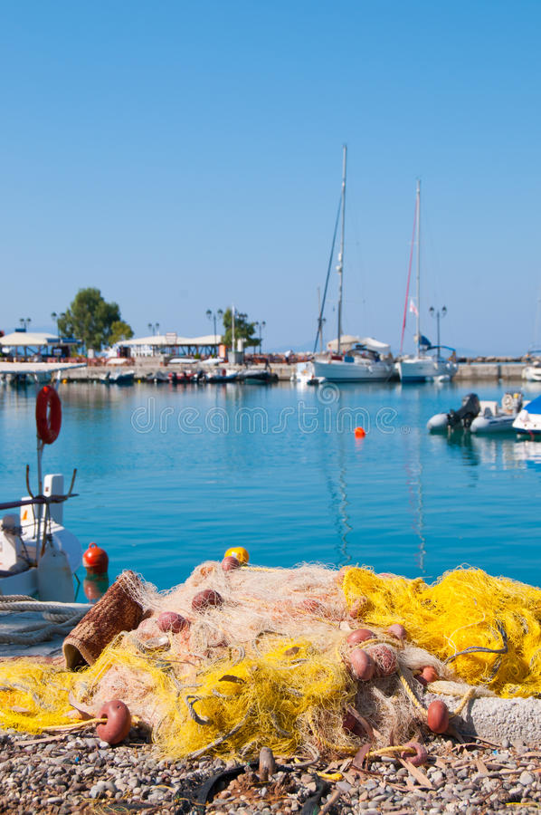 Sea Village Stock Photography