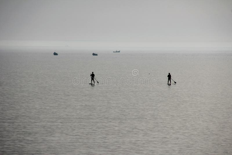 Sea, Water, Horizon, Calm royalty free stock images