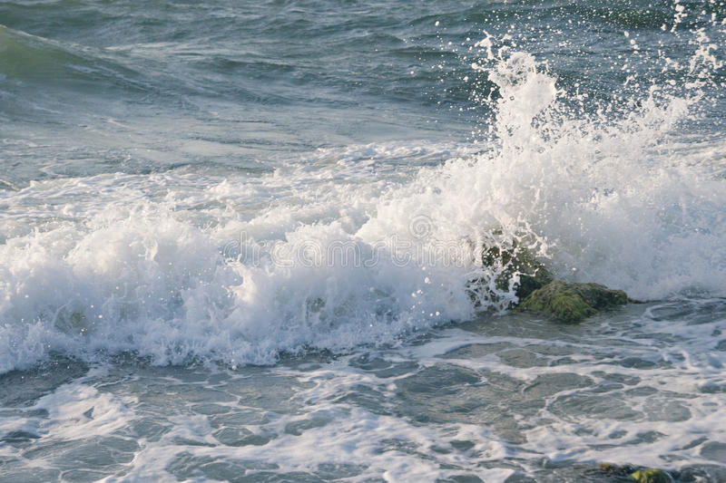 Download Sea wave stock image. Image of splashes, motion, flowing - 14850683