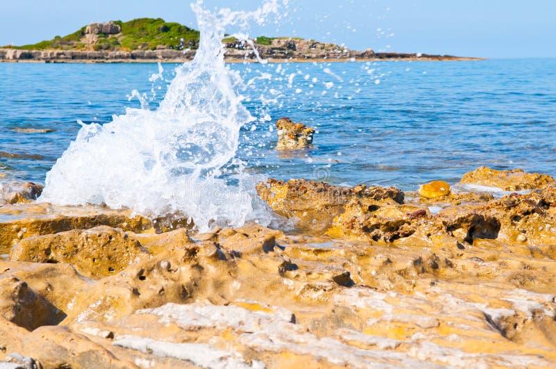 Download Sea wave stock photo. Image of season, background, island - 16757074