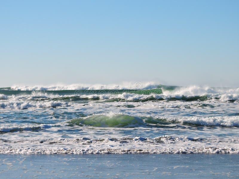 Sea, Wave, Ocean, Wind Wave royalty free stock photos