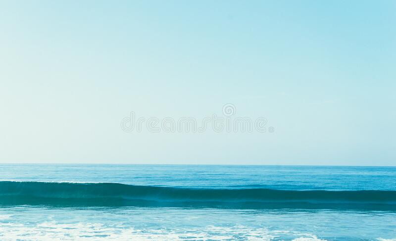 Sea wave royalty free stock images