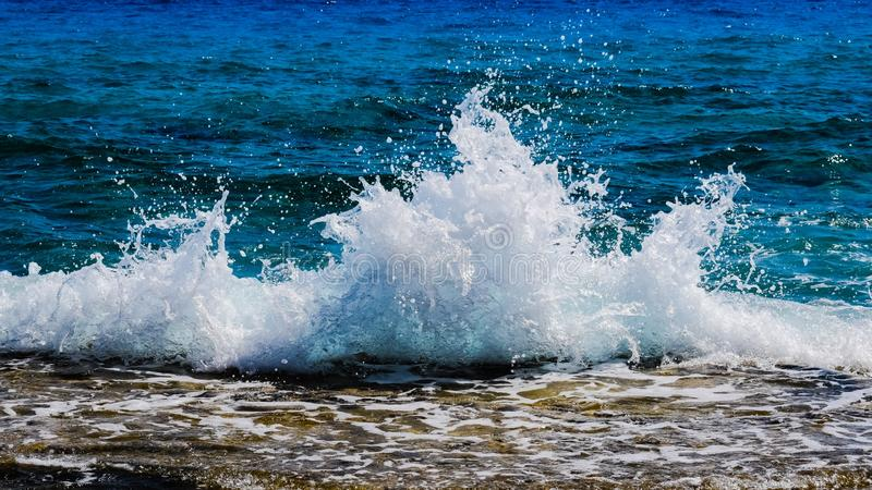 Sea, Wave, Water, Body Of Water royalty free stock photos