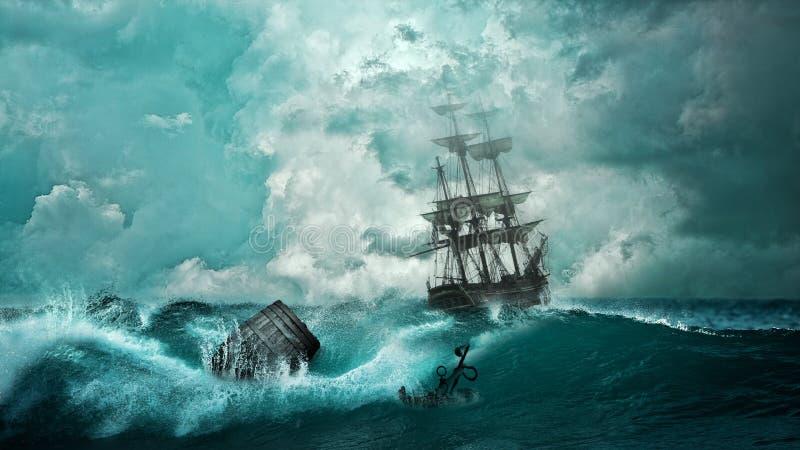 Sea, Wave, Wind Wave, Ocean royalty free stock photo