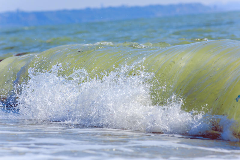Sea waves. Balck Sea, Crimea. Ukraine June 2015 royalty free stock images