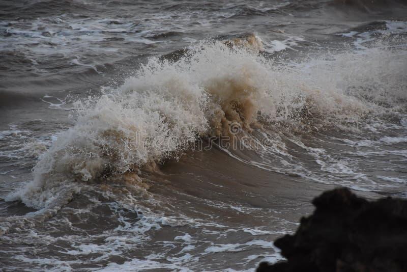 Sea waves. This photo click by nikon d7200 stock photo