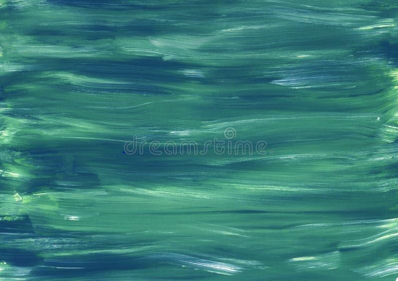 Sea waves texture turquoise blue background Wallpaper art design creativity stripes print textile interior decoration vintage grun stock images