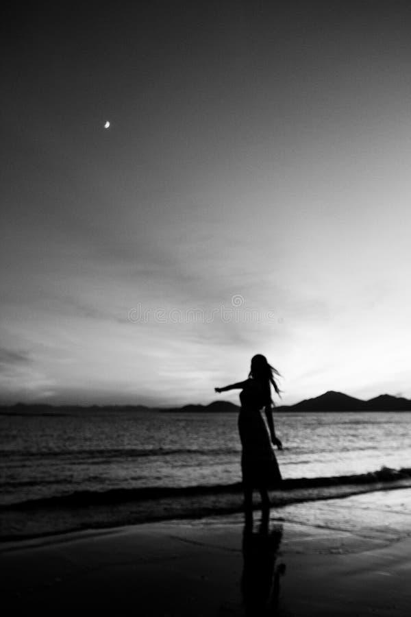 Sea, White, Sky, Horizon stock images