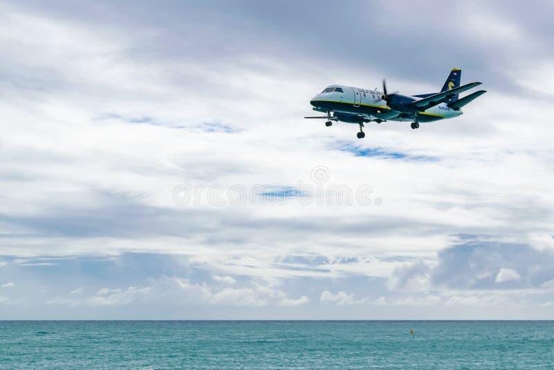 Seaborne Airlines Saab 340 vliegtuigen N283AE stock foto