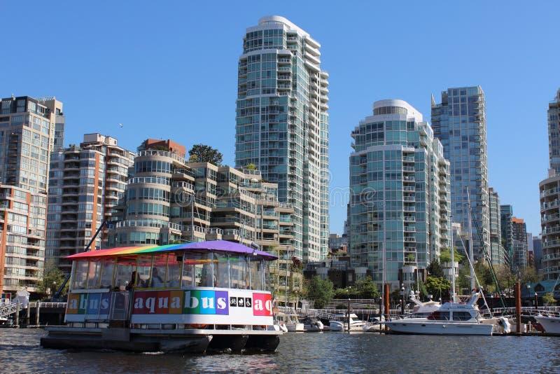Seabus à Vancouver images stock