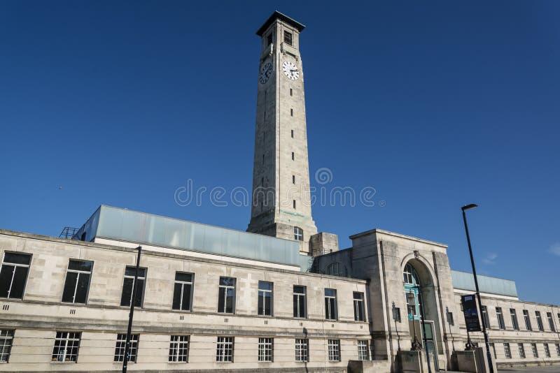 SeaCity-Museum, Behördenviertel, Southampton, Hampshire, England, Großbritannien stockfotografie