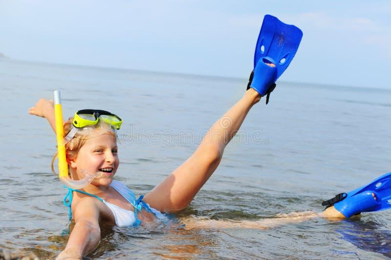 seacoast κοριτσιών στοκ φωτογραφίες