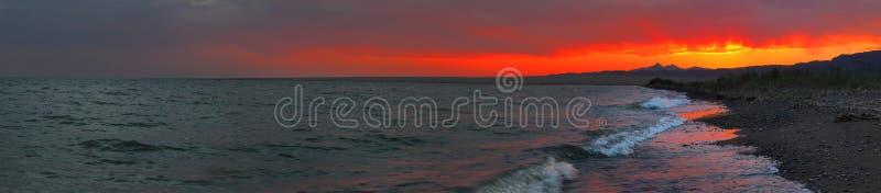 seacoast панорамы стоковые фото