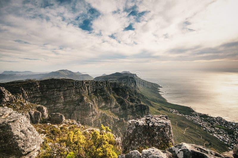 Seacoast em África do Sul fotografia de stock royalty free