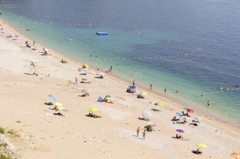 Seacoast Roquebrune nakrętka Martin w letnim dniu zdjęcia royalty free