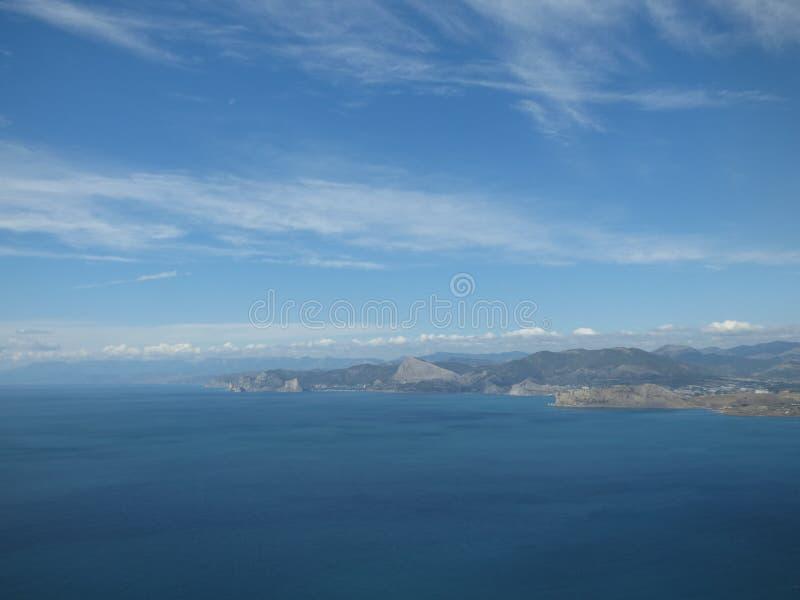 Seacost, Krim stockbilder