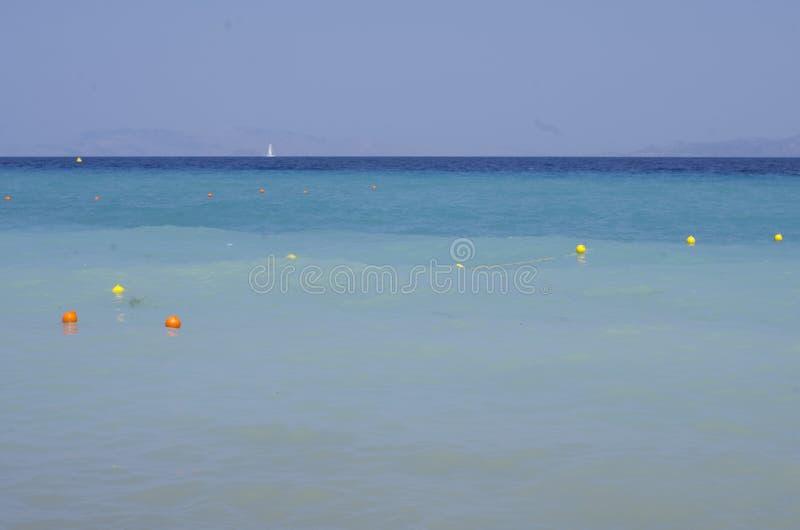 Seacoust van Egeïsche overzees stock afbeelding