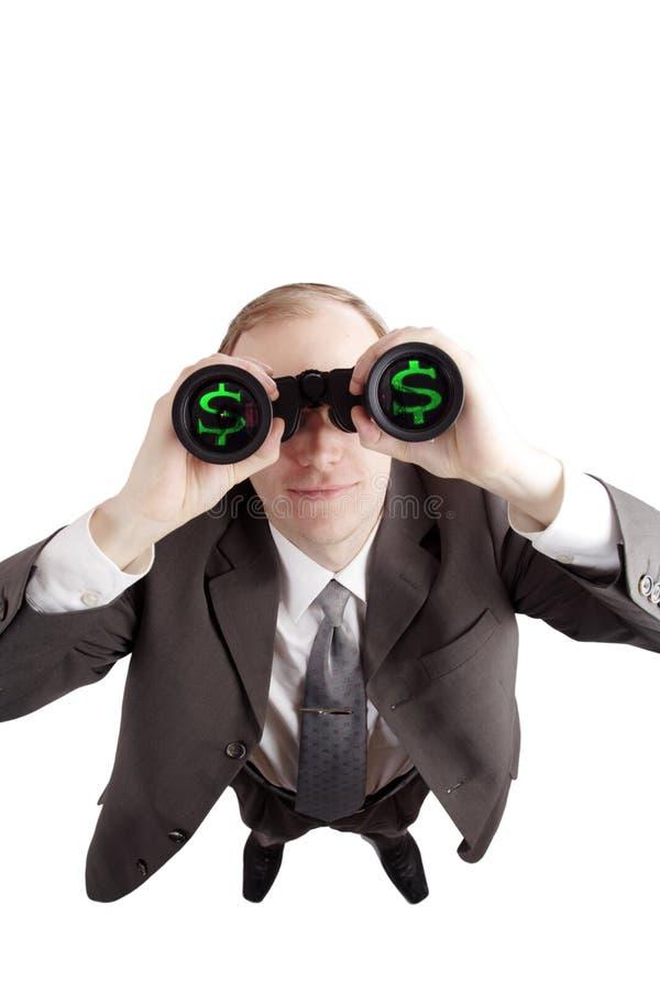 Seacrh des Dollars stockfotos