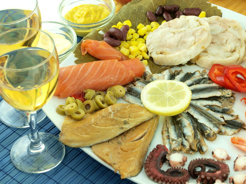 Download Seafood stock image. Image of healthy, mediterranean - 15298319