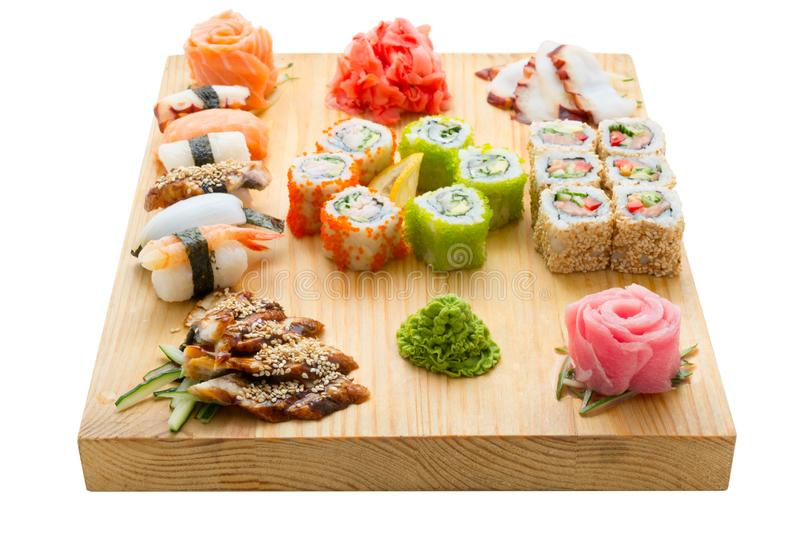 Seafood Asian Food royalty-vrije stock afbeelding