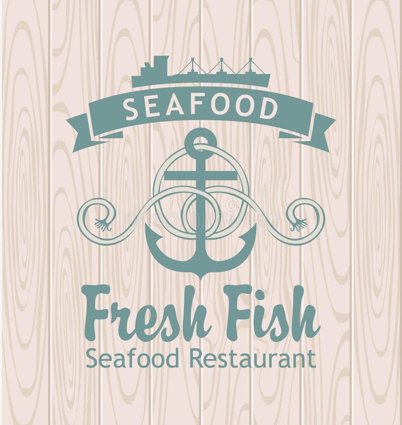 Seafood stock illustration