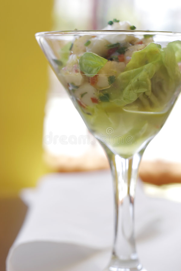 Free Seafood Ceviche Stock Photo - 5524520