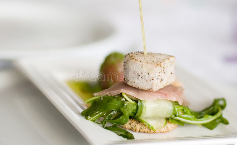 Download Seafood Dinner Stock Photo - Image: 5056590